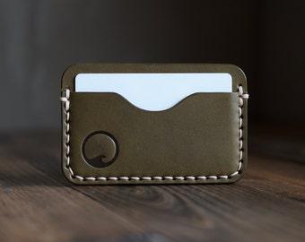 The Nautilus 3 Pocket Card Wallet / Men's Wallet / Women's Wallet / Minimalist Wallet / Card Sleeve / Business Card Holder / Leather Wallet