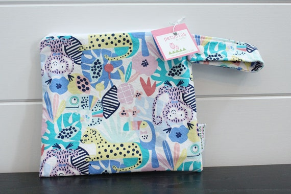 27421c529a wetbag wet bag The ICKY Bag petite pastel jungle modern baby