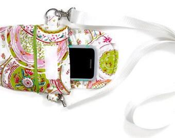 Crossbody purse for travel, Multi-color crossbody pouch,  passport purse, or small satchel