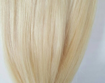 """22"""" 200g Magic-HALO-Miracle wire Angels - 100% Remy human hair extensions ,DELUXE/ Colour 613/60 mix"""
