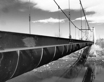 Old Bridge Casting Water Shadows #2