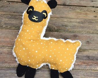 Llama Alpaca blanket