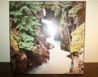 Vintage 1978 Vinyl LP Record Cat Stevens Back to Earth Excellent Condition 11033