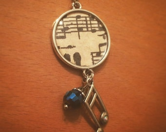 Music Life Charm Necklace