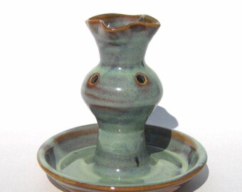 Ikebana Epergne Vase  - Ponderosa Glaze