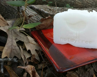 Pure Clean Soap, Natural Soap, Unscented Soap, Vegan Soap, Face Soap, Undyed Soap, Coconut Oil, Simple Soap, Handmade Soap