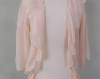1930s - 40s Pink Bed Jacket that Doesn't Have to Be!