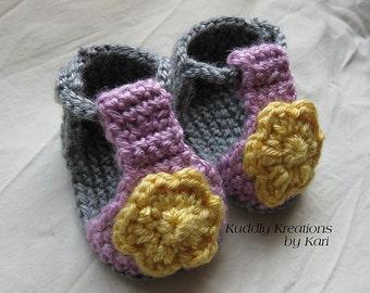 Summer Strappy Sandals Crochet Pattern