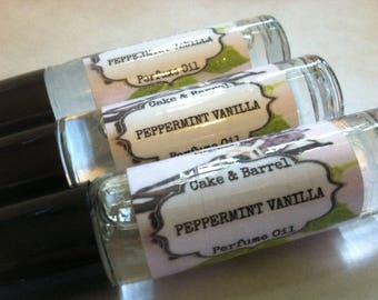 Peppermint Vanilla Roll On Perfume Oil 10ml
