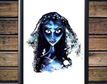 Corpse Bride - Original Art - Gloss Print
