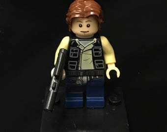 Han Solo Star Wars Minifigure Custom Minifigures