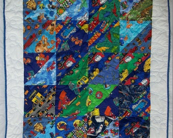Child's Cuddle quilt or Baby Bed Quilt