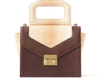 Leather Crossbody  Women's Crocus Unique Handbags Handmade, Handbag Leather,  Designer Handbags on Sale