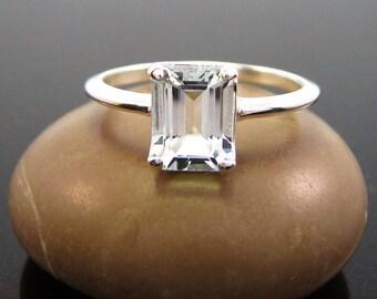 aquamarine ring silver, aquamarine ring, sterling silver ring aquamarine, March Birthstone size 3 4 5 6 7 8 9 10 11 12 13 rings for women