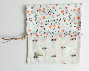 Clutch bag pattern for child 100% cotton