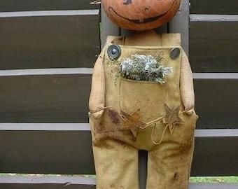 Pumpkin Patch Man E Pattern