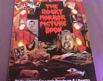 The Rocky Horror Picture Book - Souvenir Brochure & Libretto - London 1979