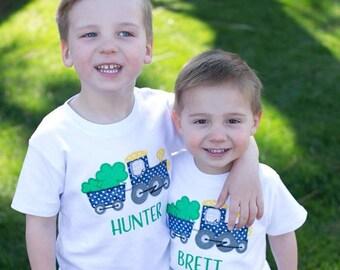 Boys St. Patrick's Day shirt, st Patrick's Day shirt, st Patrick's Day shirt for boys, shamrock shirt, vintage train shirt, clover shirt