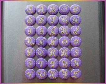 35 imanes de Sofia la primera. Princesa de Disney. Enseñanza de la ortografía letras. Alfabeto mayúsculas niños (bv001b). imanes de goma mayúsculas