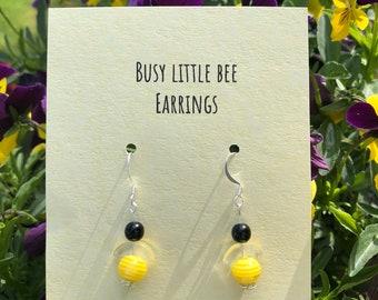 Busy Little Bee Earrings