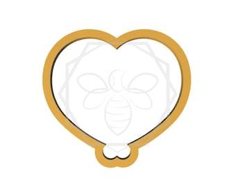 Balloon Heart Cookie Cutter