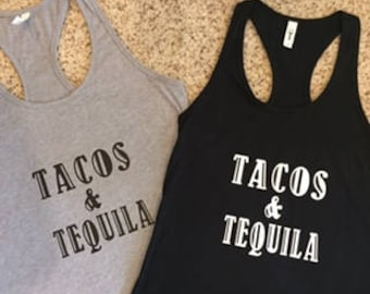 Tacos & Tequila Ladies Shirt