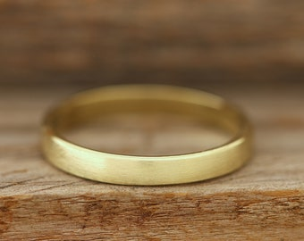 Brushed Brass Band - 3mm