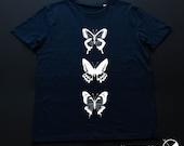 T-shirt Butterfly / man /...