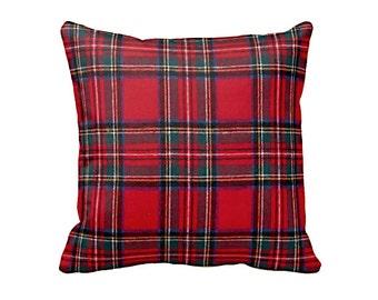 Decorative Pillows Throw Pillows Decorative Throw Pillows Red Throw Pillow Cover Christmas Pillows Holiday Pillow Holiday Decor Plaid Pillow