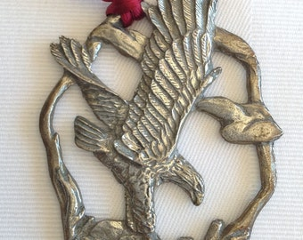 WWF Seagull Pewter Eagle Collector's Ornament