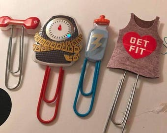 Fitness paperclips
