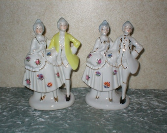 2 - 1940's Set of Figurines Made in Japan