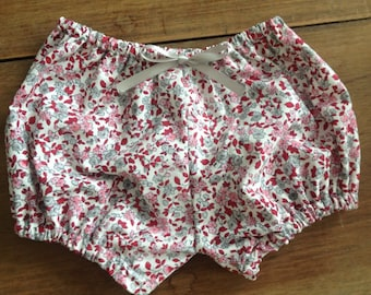 Baby girl 0 to 3 months cotton bloomers