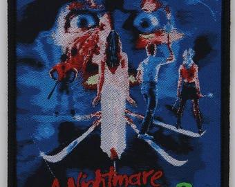 Woven PATCH - A Nightmare on Elm Street 3, The Dream Warriors - HORROR, Freddy Krueger