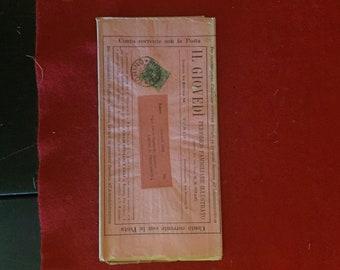 2-1892 Italian.., hand canceled postage