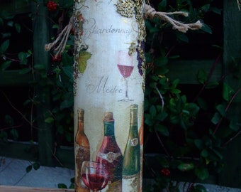 paper marche wine box,original gift