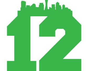 12th Men Seattle Seahawks (Free Same day Shipping within the USA )
