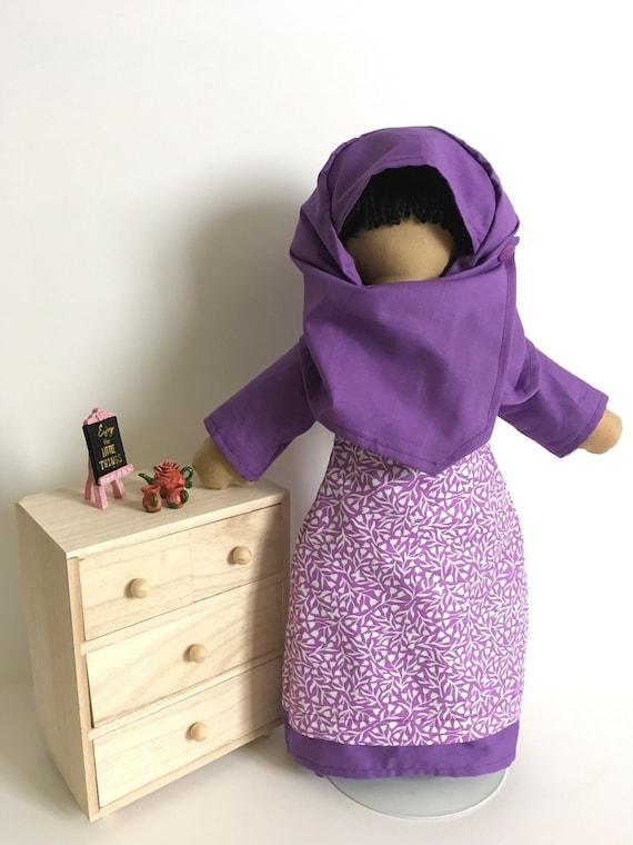 Lil' Muslimah in Purple