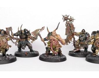 Putrid Blightkings warhammer wargames