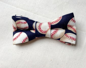 baseball dog and cat bow tie