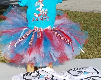 thing one tutu outfit