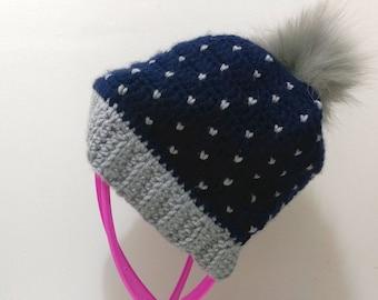 Women's Crochet Winter Hat/Beanie