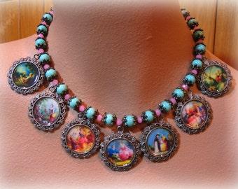 BOUCHER statement necklace