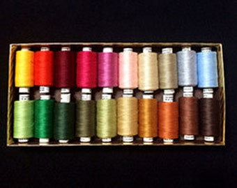 Valdani Quilting Threads - Beautiful Assortment - 50 wt.