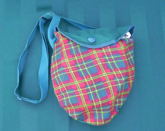 Vintage Girl Scout Mess Kit, Camping Kit, Campfire Pots and Pans with Shoulder Pouch