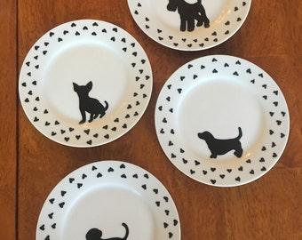 Puppy love plate set