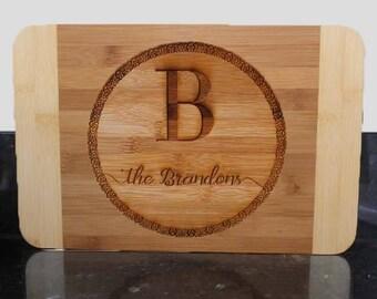 Personalized cutting board, engraved cutting board, couple gift, wedding gift, wedding present, anniversary present, custom cutting board
