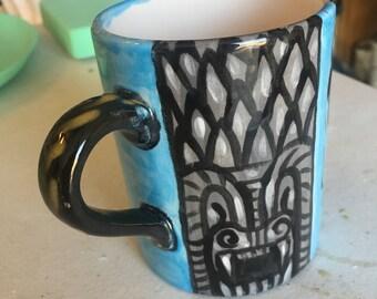 Day of the Dead Mug - Frida in Blue