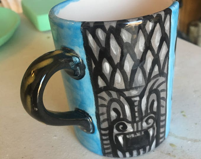 Day of the Dead Mug - Frida in Blue