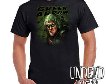 Dc Comics - Oliver Queen - Green Arrow - Mens T Shirt